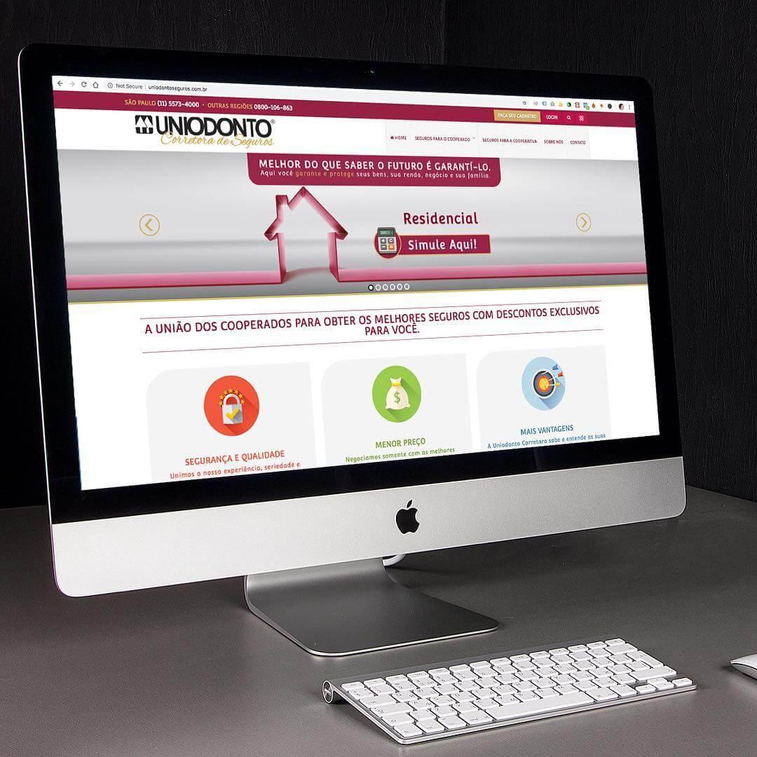 Criação de Website – Uniodonto